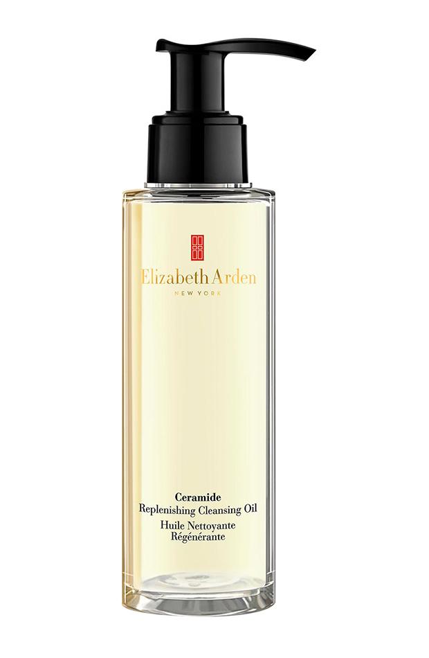 Rutina de doble limpieza facial Aceite Limpiador Revitalizante Ceramide Elizabeth Arden