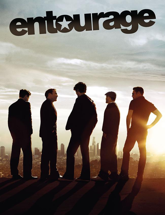 Series para ver: Entourage