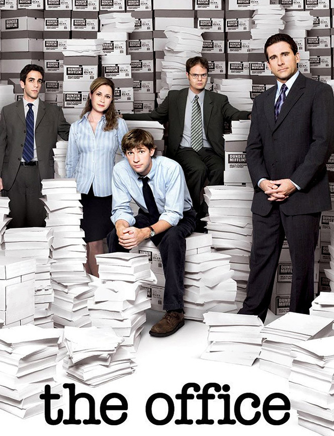 Series para ver: The office