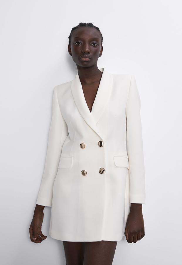 Levita cruzada blanca de los especial Prices de Zara