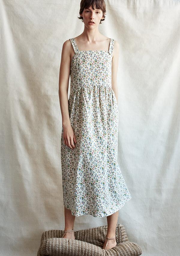 Vestido de Zara de tirantes con print floral