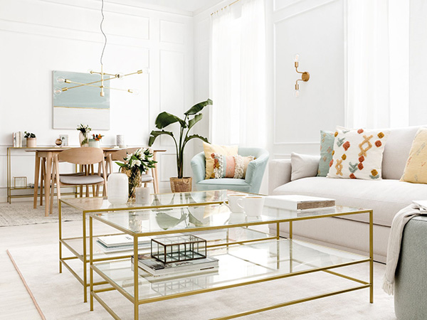 Tendencias deco 2020 de Kenay Home: Eclectic Gold
