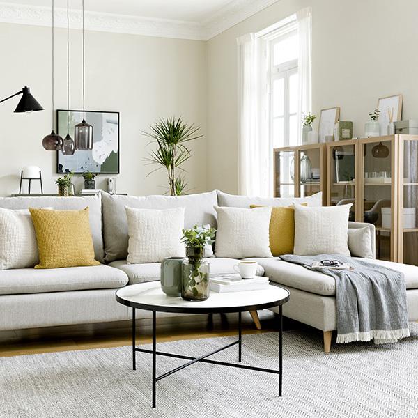 Sofá con textura de Kenay Home