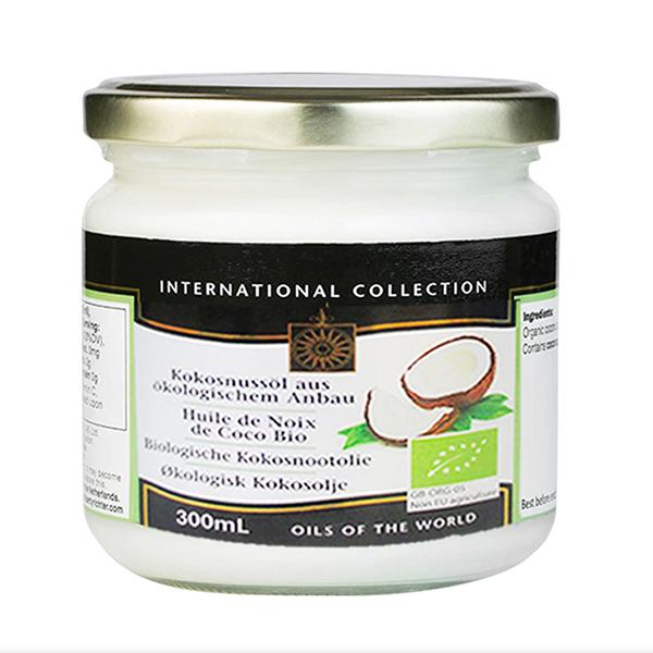 granola casera Aceite de coco