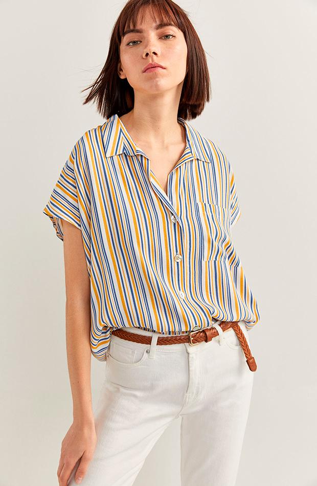 Camisa de rayas de Springfield