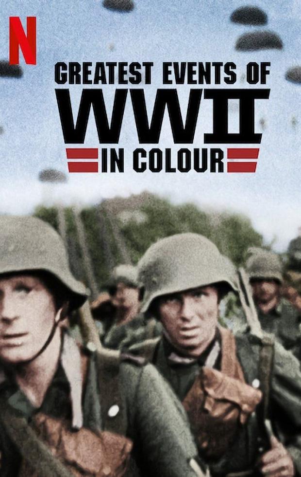 documentales historicos de netflix la II guerra mundial en color