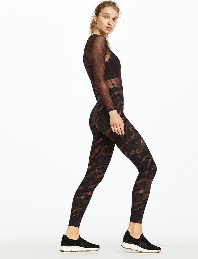 Leggings estampados de Oysho de animal print