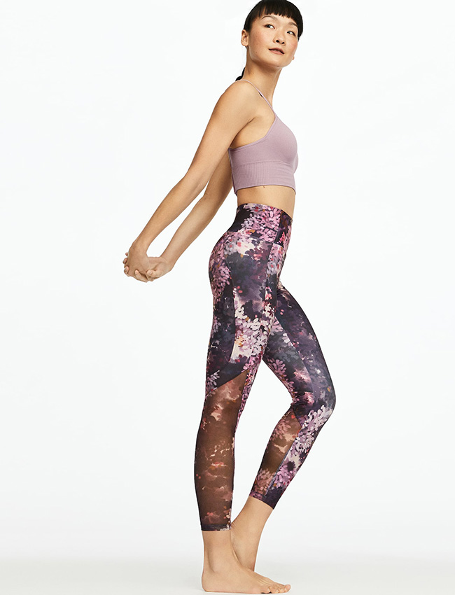 Leggings estampados de Oysho rosas