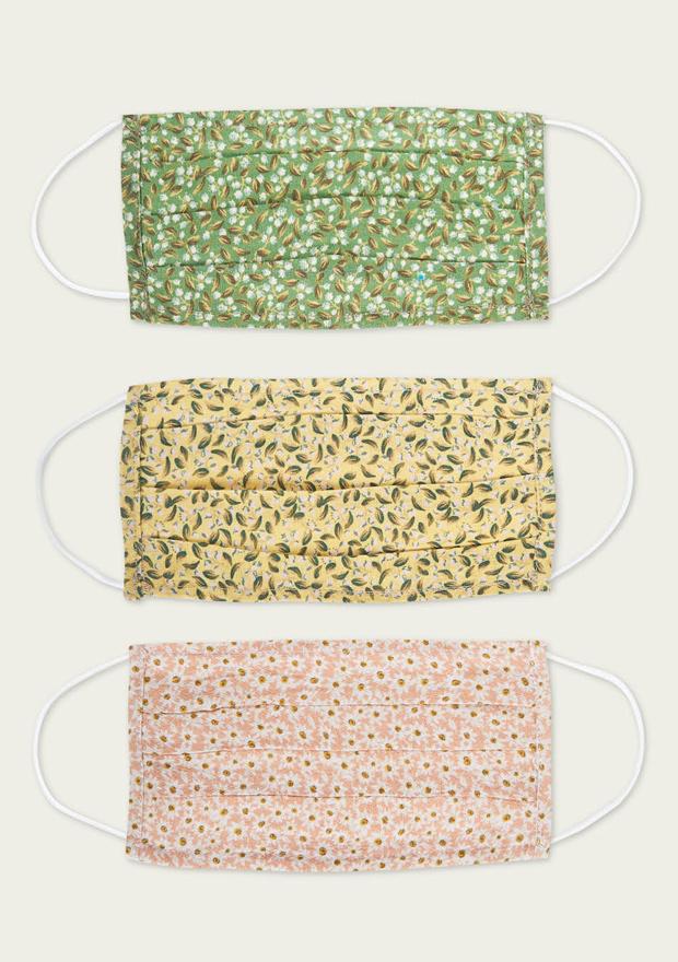 Mascarillas de tela reutilizables de Brownie