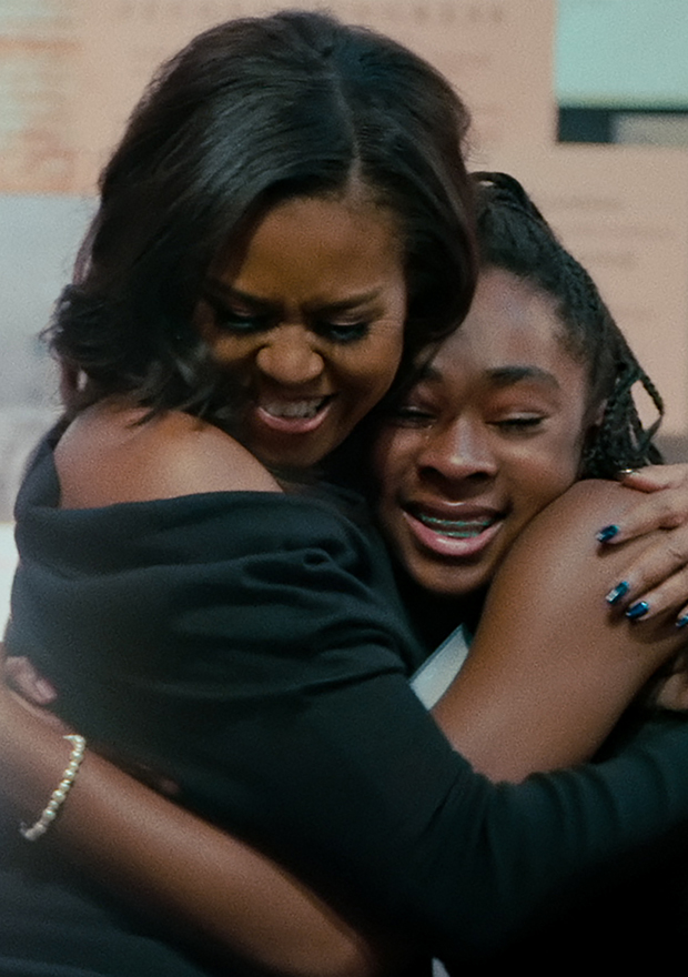 Documentales de netflix motivadores Michelle Obama Becoming