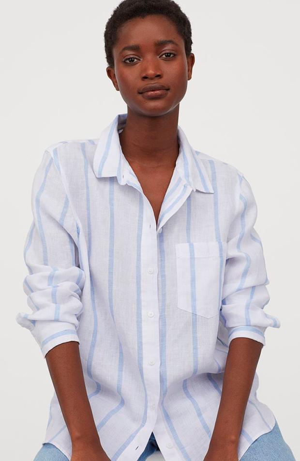 novedades de h&M Camisa de rayas
