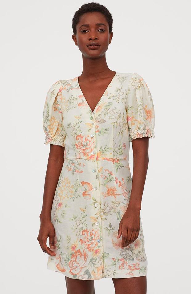 novedades de H&M Vestido corto de flores