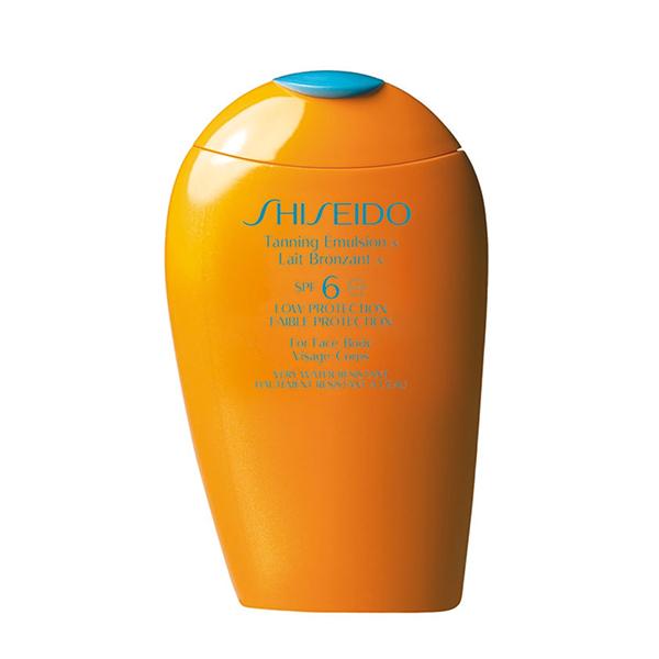 orden de la rutina de belleza crema solar shiseido