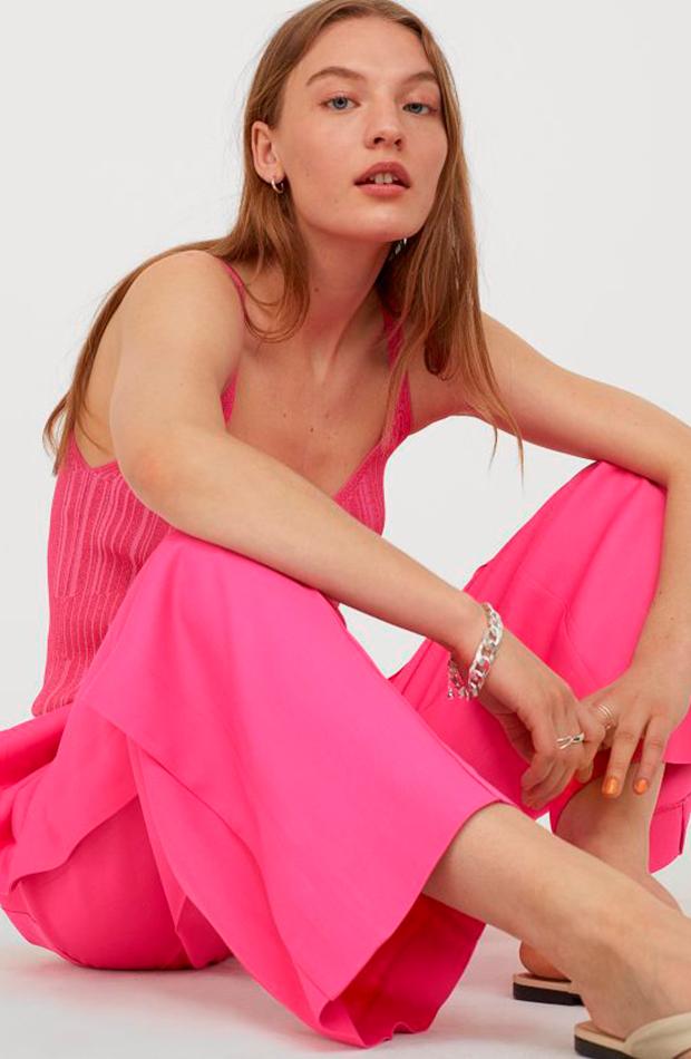 Pantalón fucsia de H&M pantalones para verano