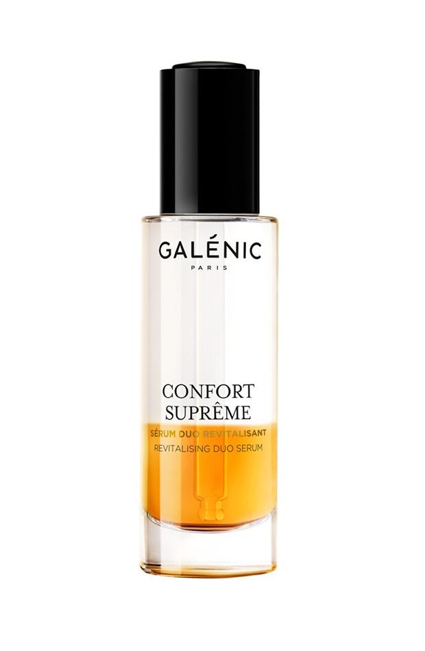 rutina de hidratación Sérum Duo Confort Supreme de Galenic