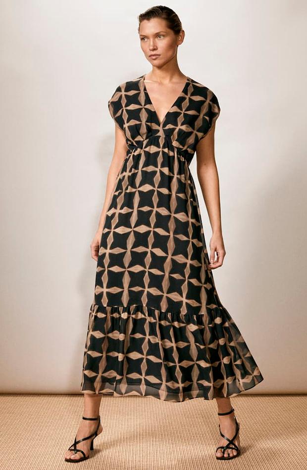 vestidos largos Vestido de Massimo Dutti