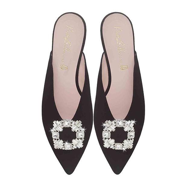 zapatos tendencia verano 2020: Babuchas joya