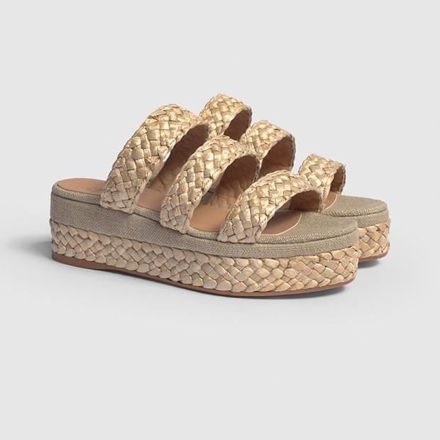 zapatos tendencia verano 2020: Sandalias con plataforma