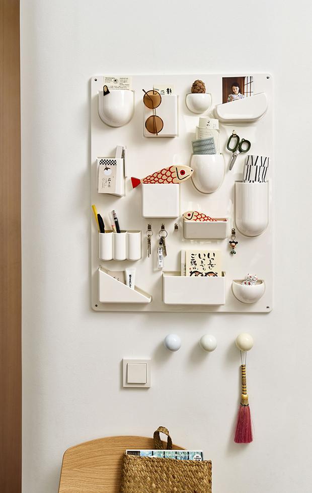 simplifica tu hogar organizador de pared de vitra