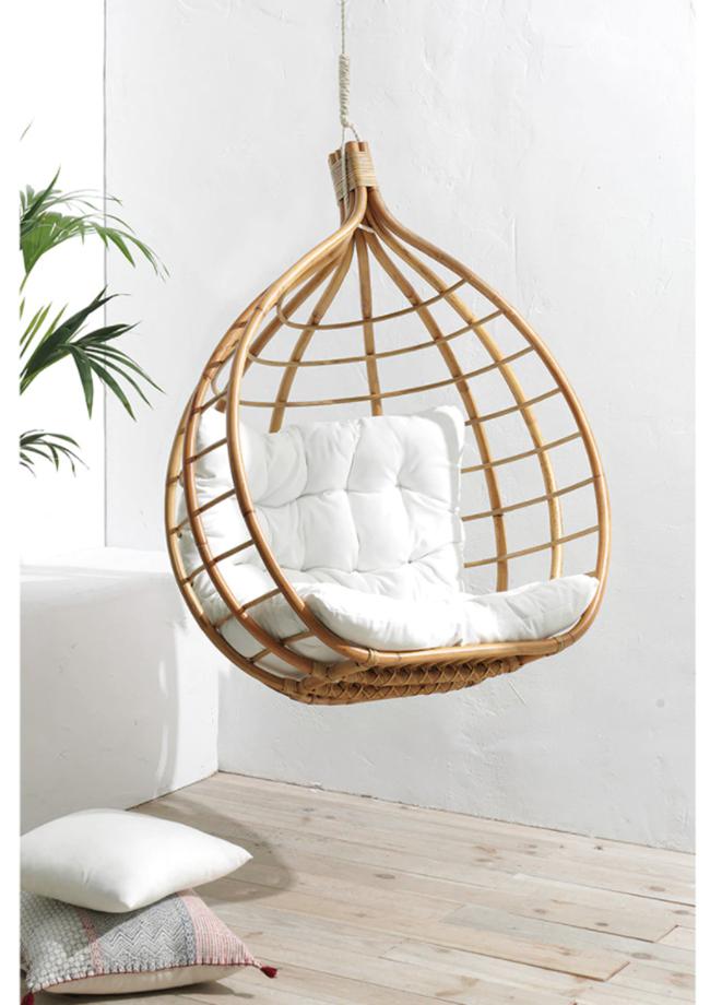 decoración minimalista Columpio de ratán de El Corte Inglés