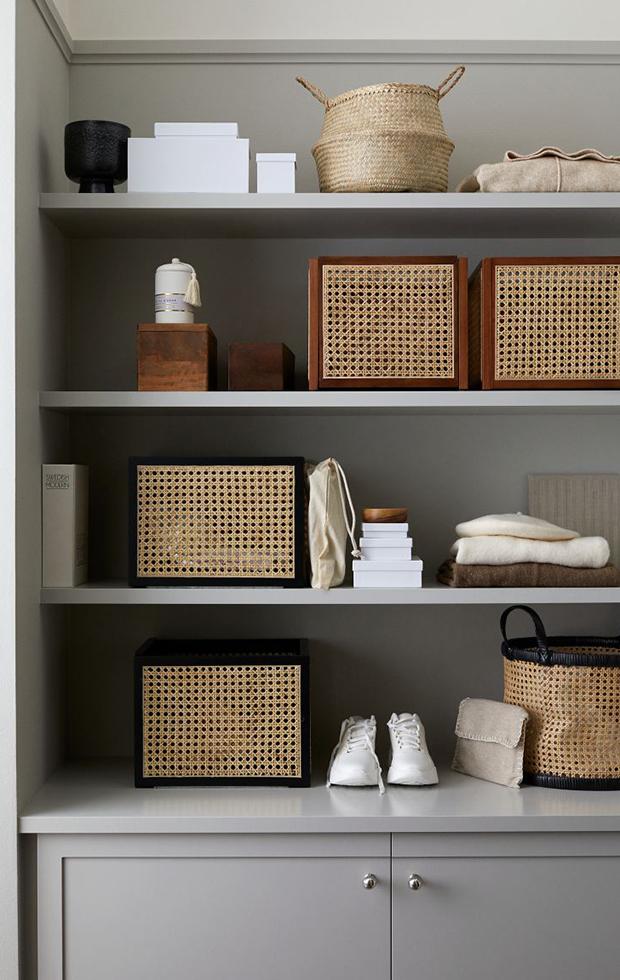 simplifica tu hogar cesta de almacenaje