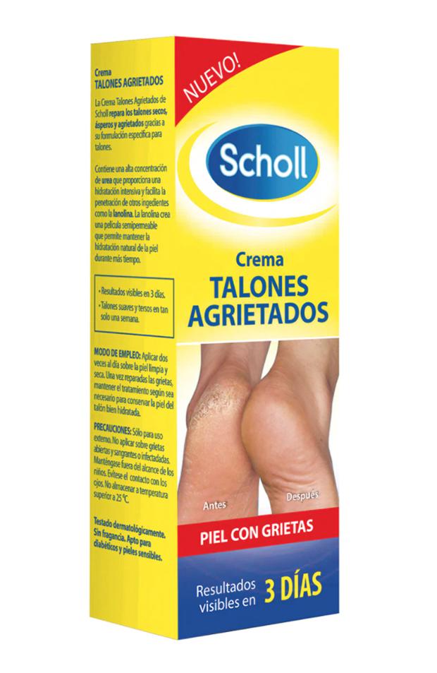 pedicura perfecta Crema para talones agrietados de Scholl