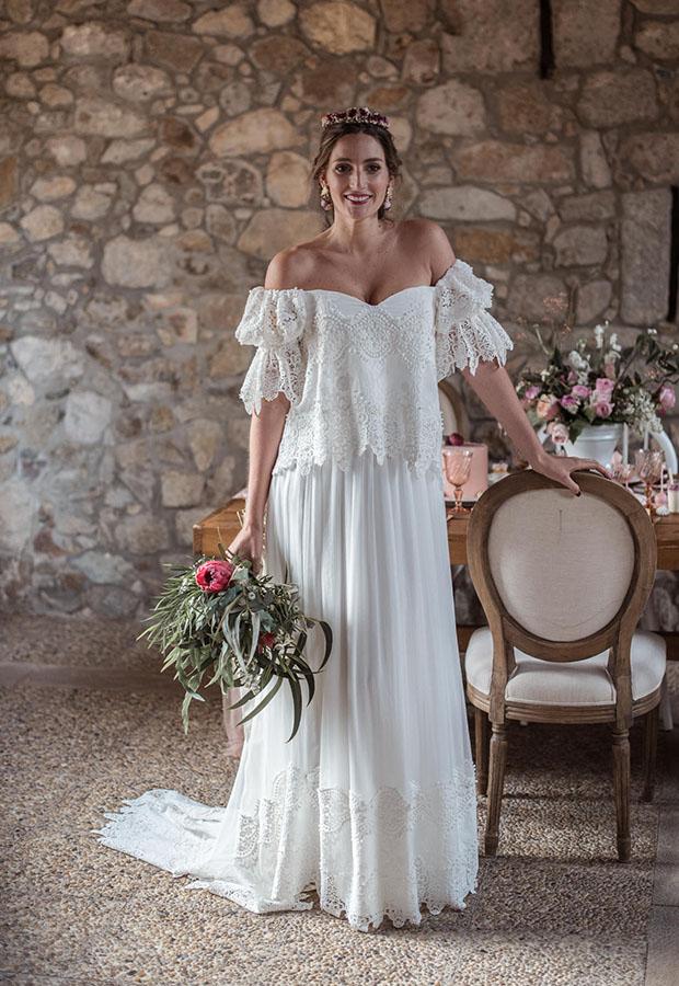 Vestido de novia de Confesiones de una boda