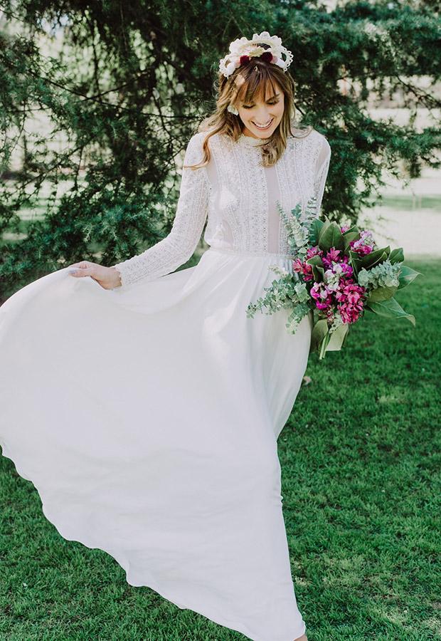 Confesiones de una boda con vestido de novia