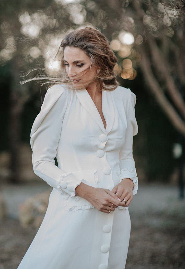 Confesiones de una boda con vestido camisero