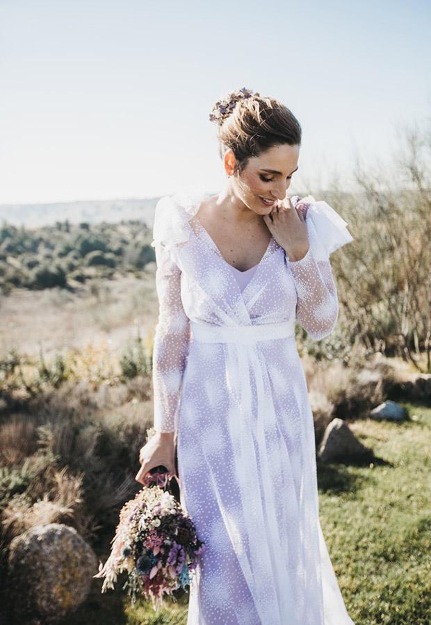 Confesiones de una boda con vestido lila