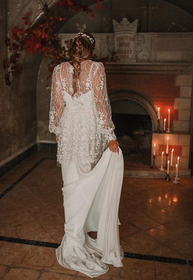 Confesiones de una boda con vestido romántico