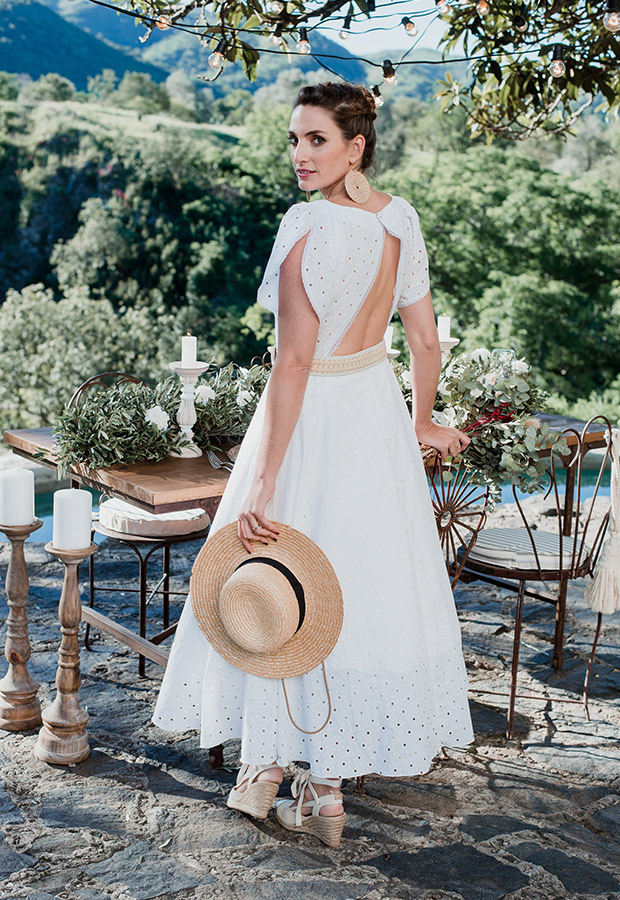 Confesiones de una boda con vestido provenzal