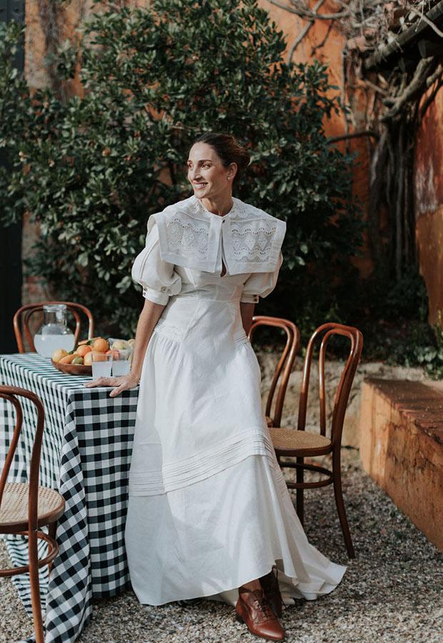 Vestido de novia campero de Confesiones de una boda