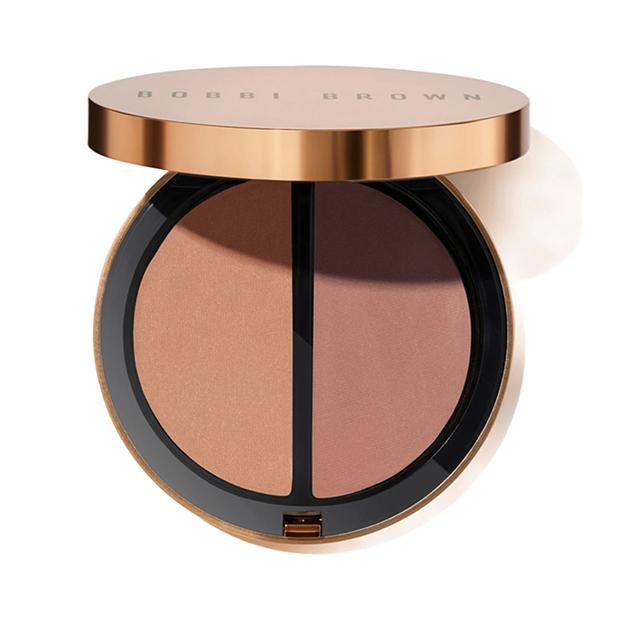 maquillaje efecto bronceado: Bronzing Powder Duo de Bobbi Brown