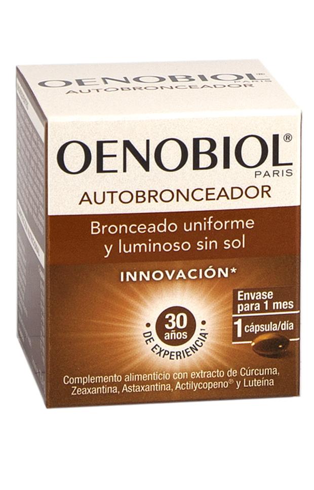 Autobronceado perfecto capsulas autobronceadoras oenobiol