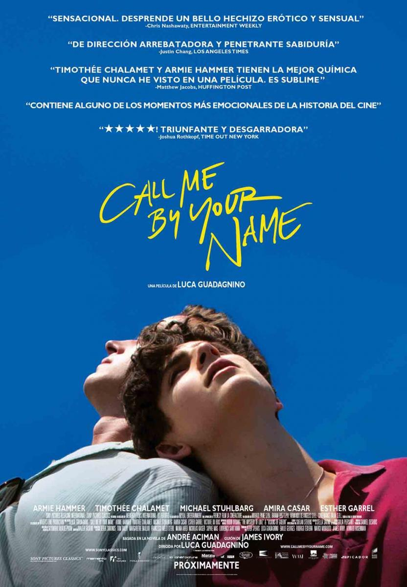 pelis temática lgtbi Call me by your name