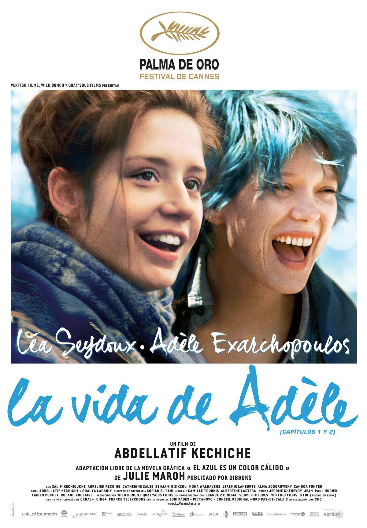 películas de temática lgtbi la vida de Adele