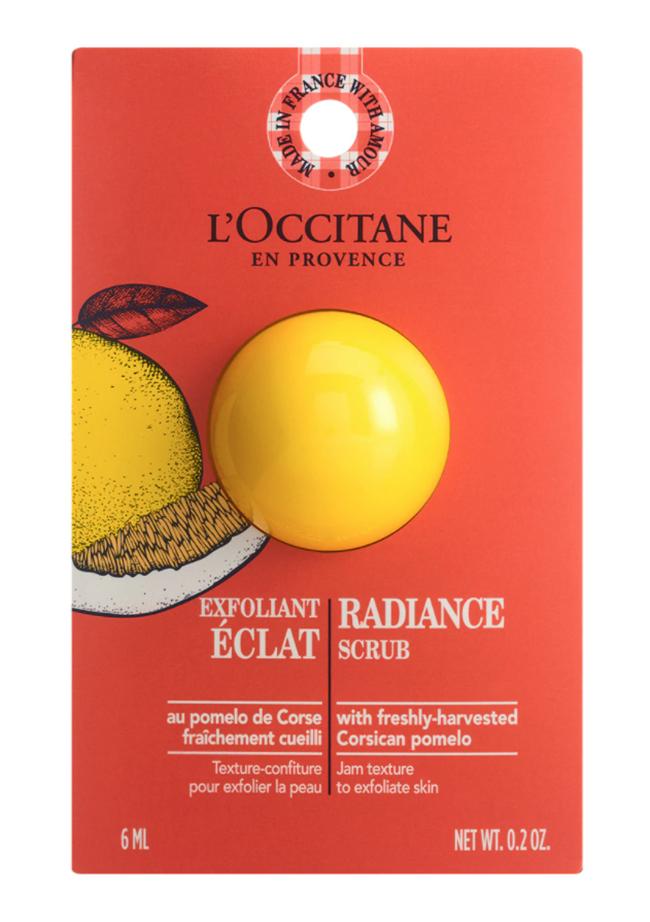 piel luminosa Exfoliante Luminosidad de L'Occitane en Provence