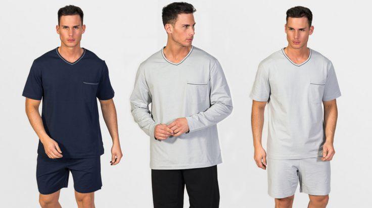 Pijamas de verano para hombres de ZD Zero Defects