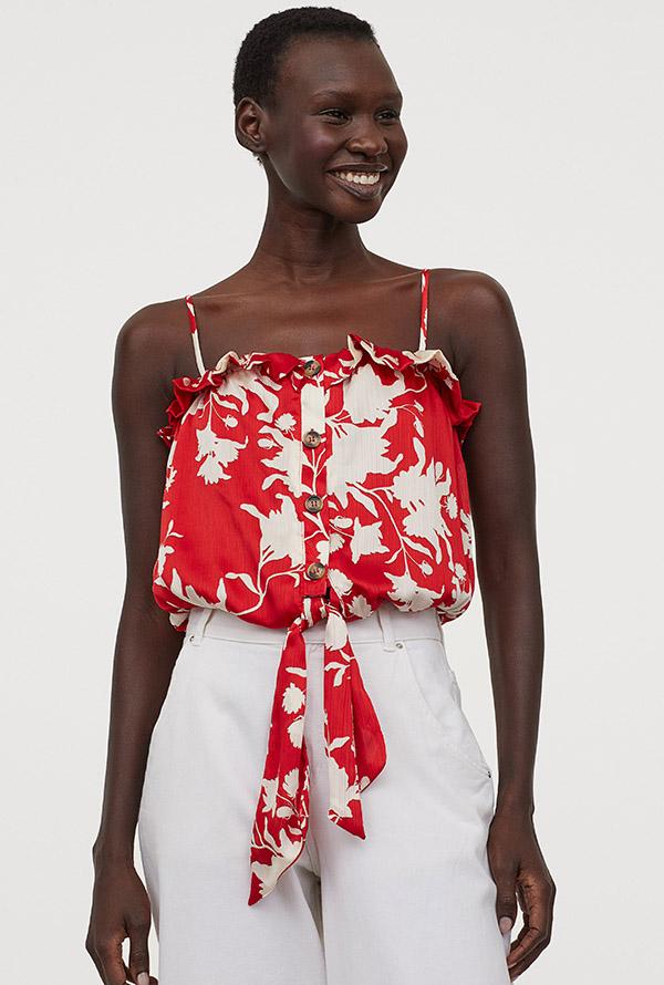 Prendas en rojo de H&M