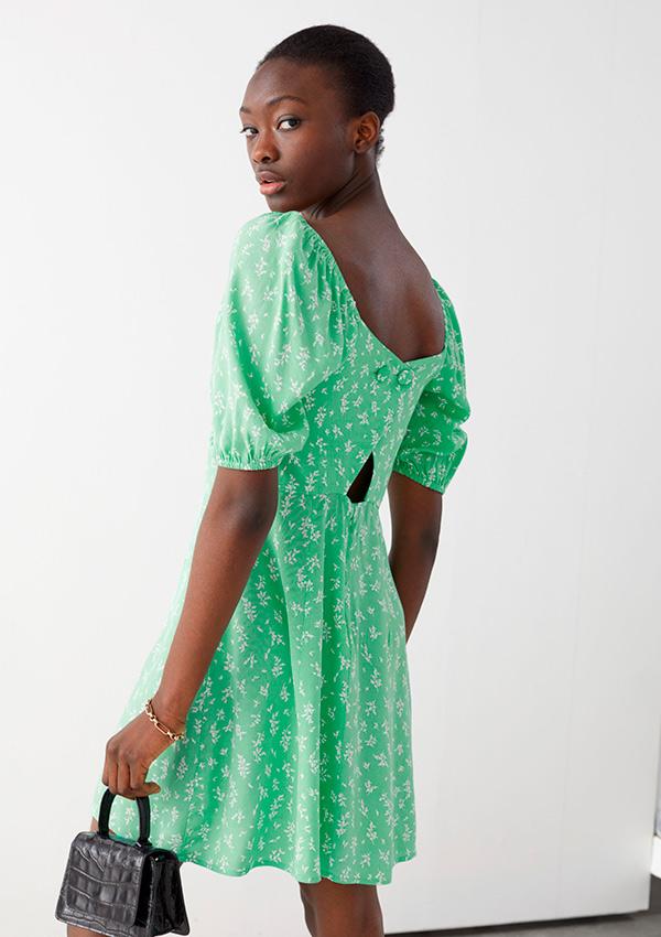 Vestido verde de las rebajas And Other Stories