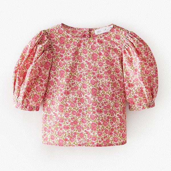 Camisa de flores de Zara KIDS