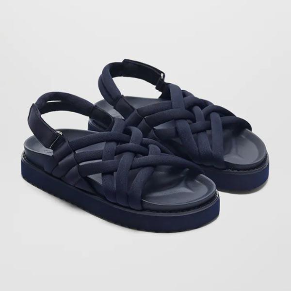 Sandalia tubular de Zara Kids
