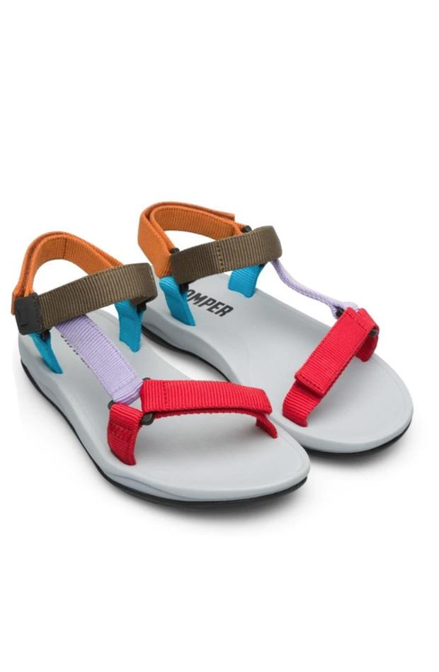 Sandalias de Camper en tejido multicolor