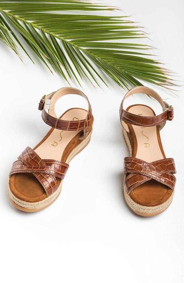 Sandalias de cuña de Unisa