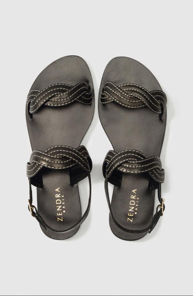 Sandalias de Zendra Basic con tiras trenzadas
