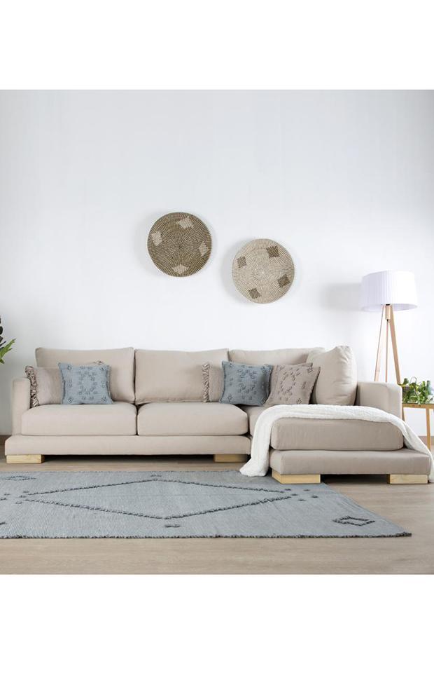 simplifica tu hogar sofá beige