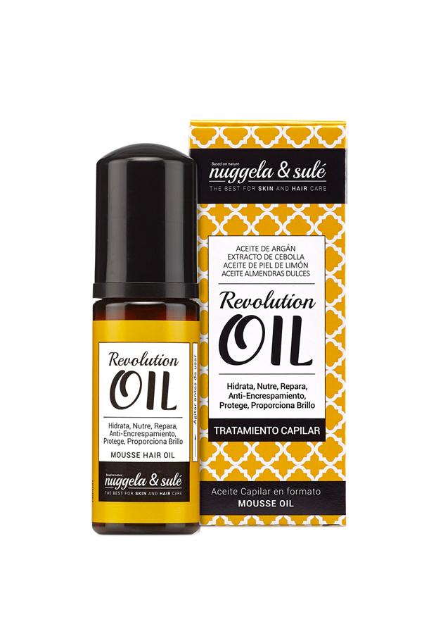 ondas surferas Elixir de aceites capilares Mousse Oil Nuggela&Sule Revolution