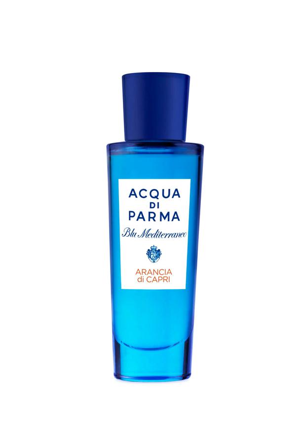 perfumes verano 2020 Eau de Toilette Arancia di Capri Blu Mediterraneo Acqua di Parma