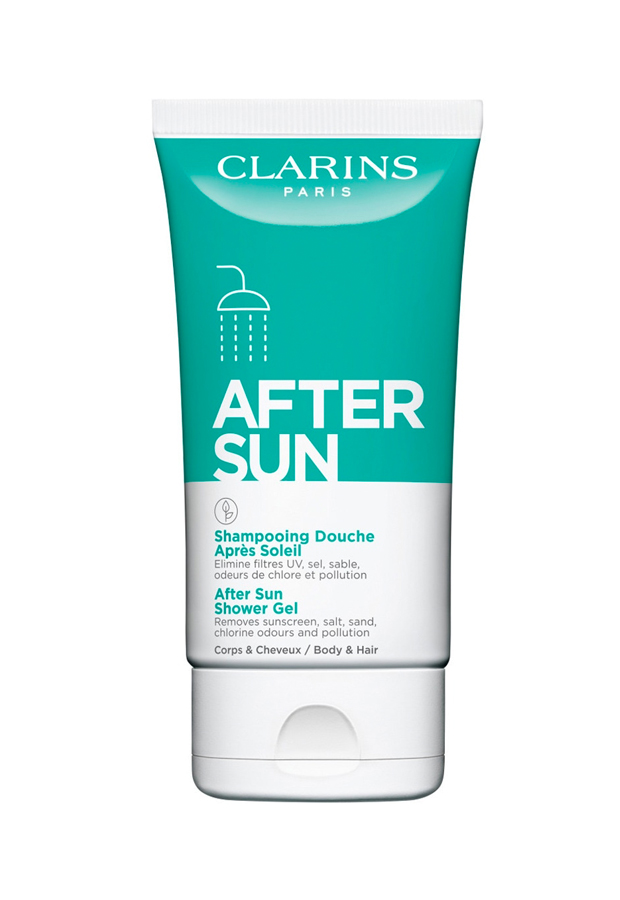 bronceado perfecto Aftersun Shower Gel de Clarins